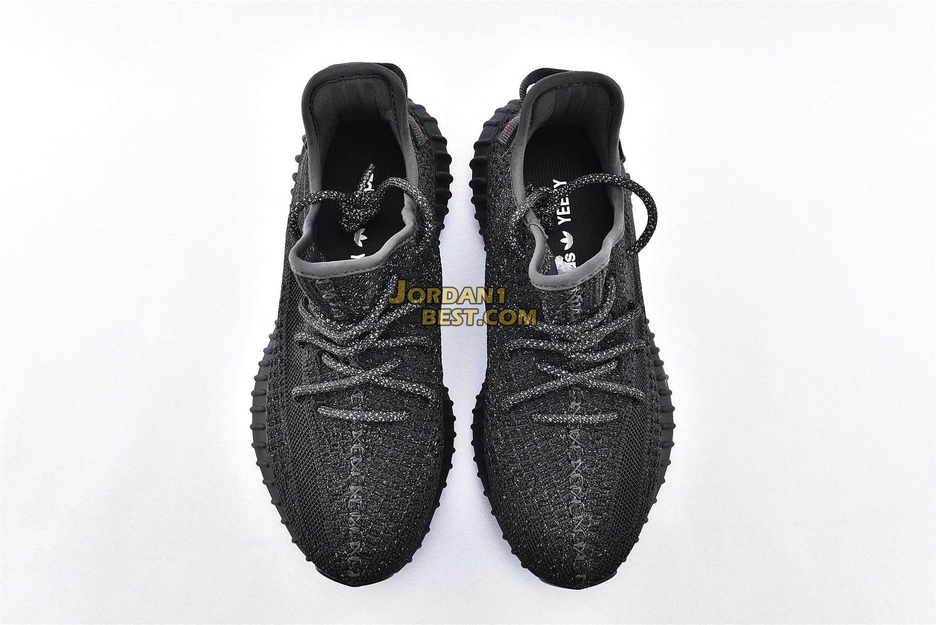 "Adidas Yeezy Boost 350 V2 ""Black Reflective"" FU9007"
