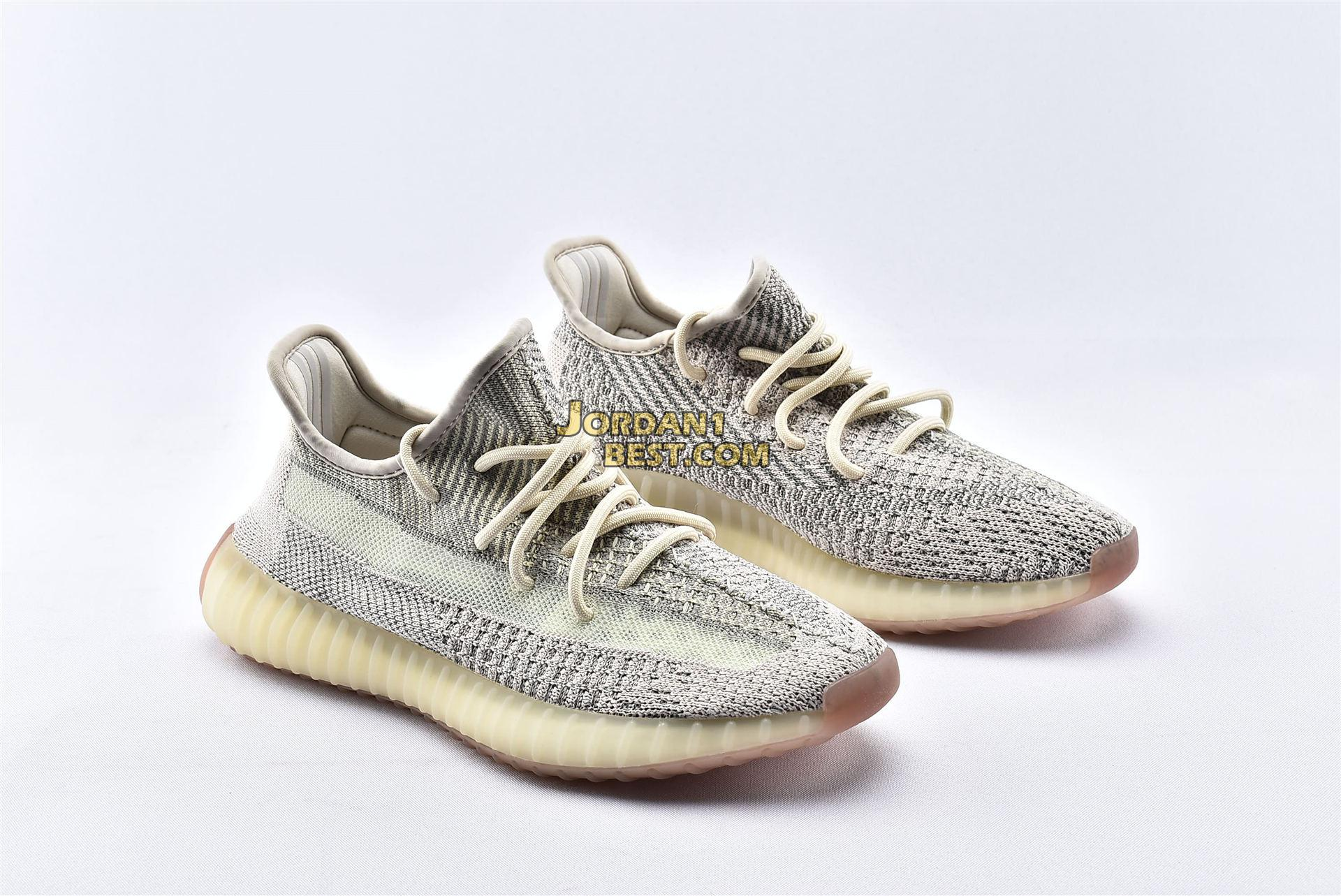 "Adidas Yeezy Boost 350 V2 ""Citrin Reflective"" FW5318"