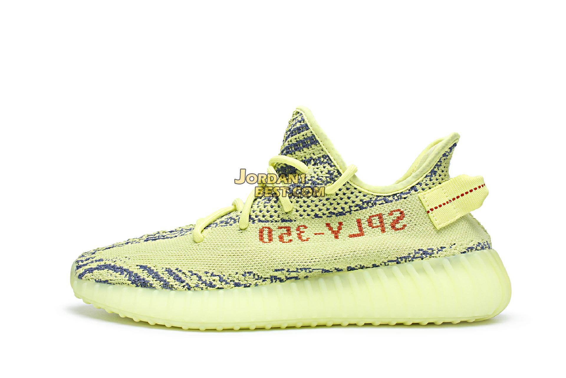 "Adidas Yeezy Boost 350 V2 ""Semi Frozen Yellow"" B37572"