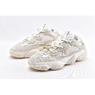 "best replicas Adidas Yeezy 500 ""Bone White"" FV3573 Bone White/Bone White-Bone White Mens Womens Unisex Shoes replicas On Sale Wholesale"