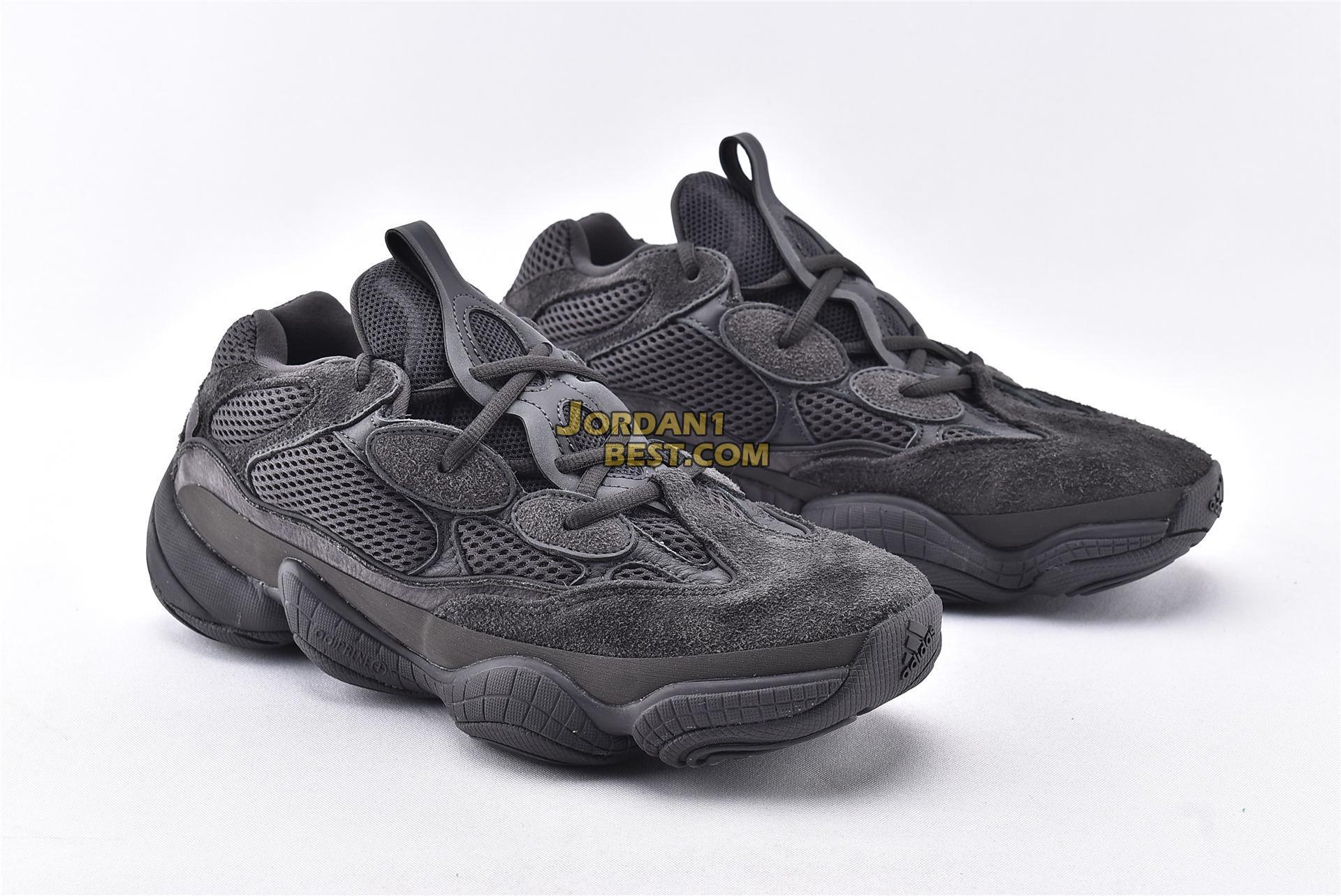 "Adidas Yeezy 500 ""Utility Black"" F36640"
