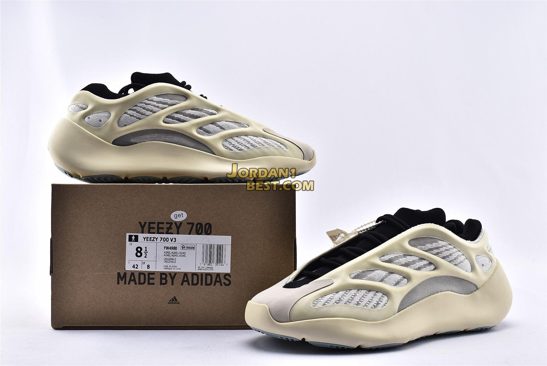 """Adidas Yeezy Boost 700 V3 """"Azael"""" FW4980"""
