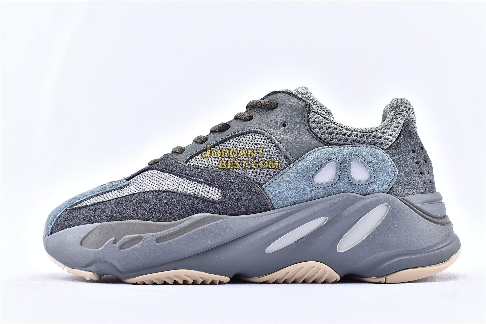 "best replicas Adidas Yeezy Boost 700 ""Teal Blue"" FW2499 Teal Blue/Teal Blue-Teal Blue Mens Womens Unisex Shoes replicas On Sale Wholesale"