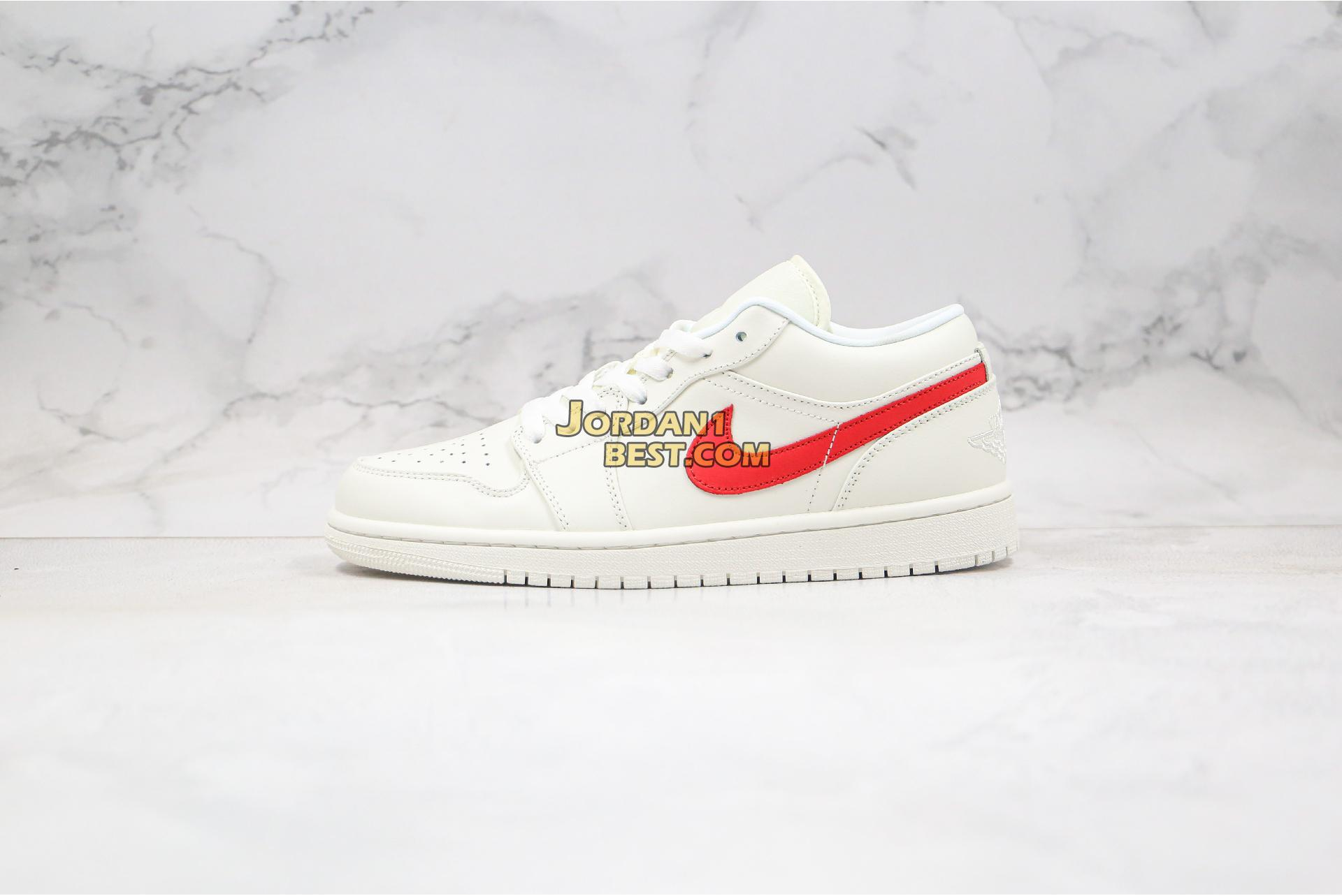 "2020 Air Jordan 1 Low ""University Red"" AO9944-161 Mens Womens"
