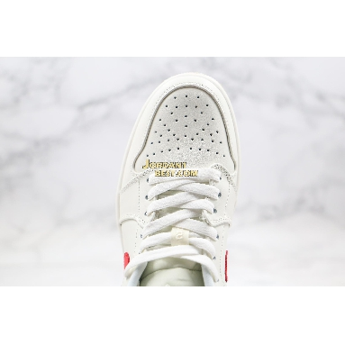 """fake 2020 Air Jordan 1 Low """"University Red"""" AO9944-161 Mens Womens white/university red Shoes replicas On Wholesale Sale Online"""