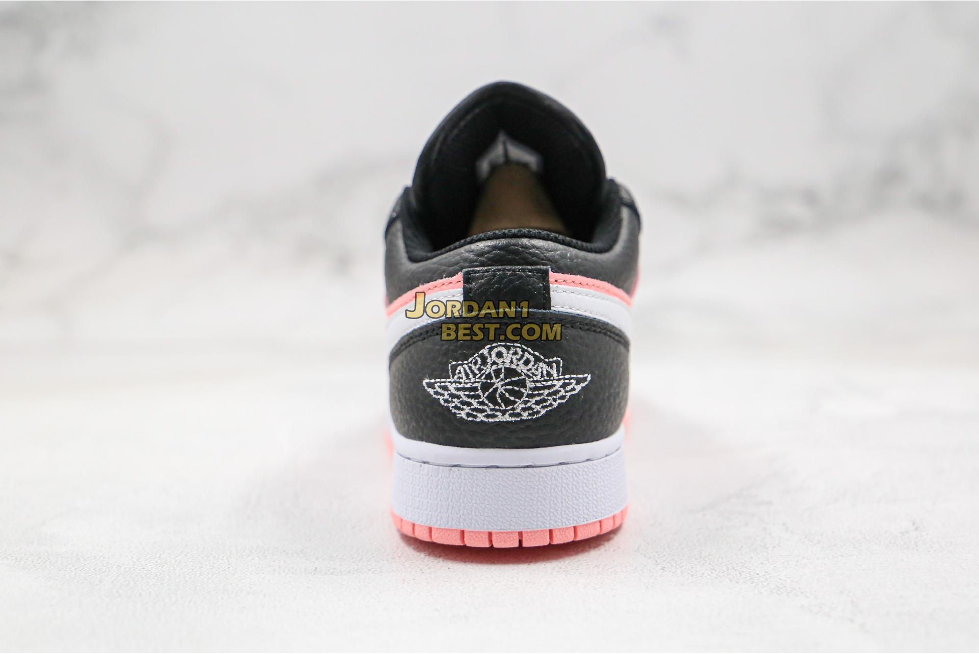 "2020 Air Jordan 1 Low GS ""Pink Quartz"" 554723-016 Womens"