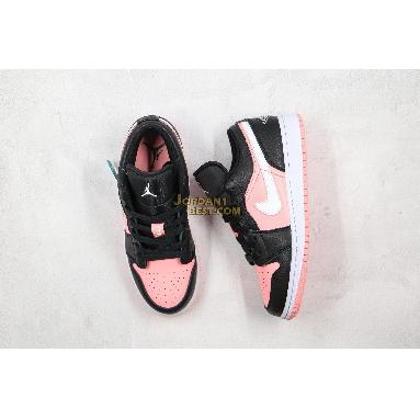 "AAA Quality 2020 Air Jordan 1 Low GS ""Pink Quartz"" 554723-016 Womens dark smoke grey/white-pink quartz Shoes replicas On Wholesale Sale Online"