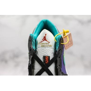 "new replicas 2019 Air Jordan 1 Low GS ""Black Turbo Green"" 553560-035 Mens Womens black/white-court purple-turbo green Shoes replicas On Wholesale Sale Online"