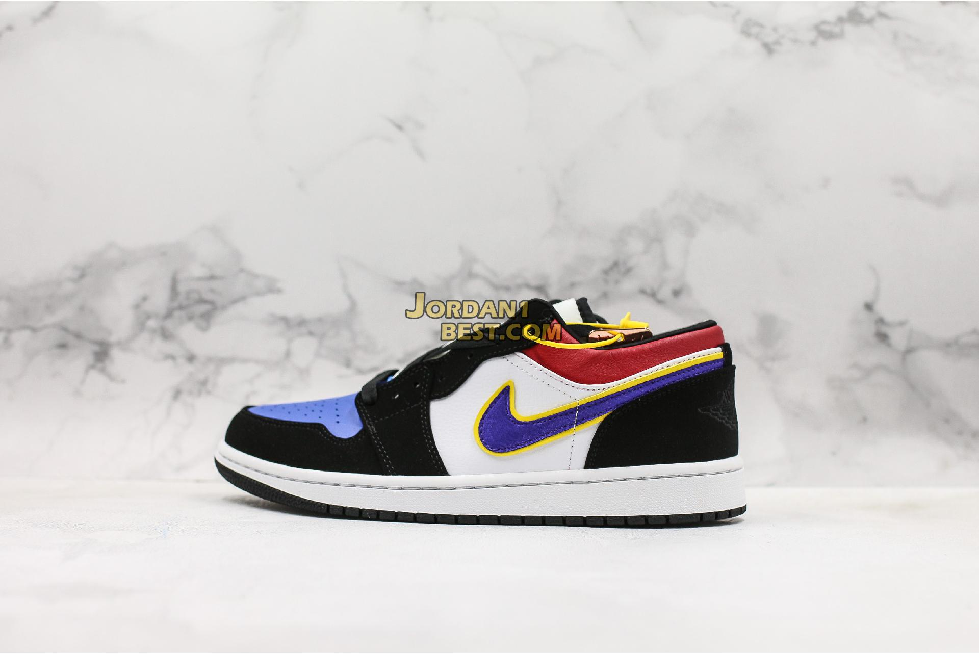 "2019 Air Jordan 1 Low ""Rivals"" CJ9216-051 Mens Womens"