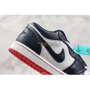 "fake Air Jordan 1 Low ""Obsidian Ember Glow"" 553558-481 Mens Womens obsidian/ember glow-white Shoes replicas On Wholesale Sale Online"