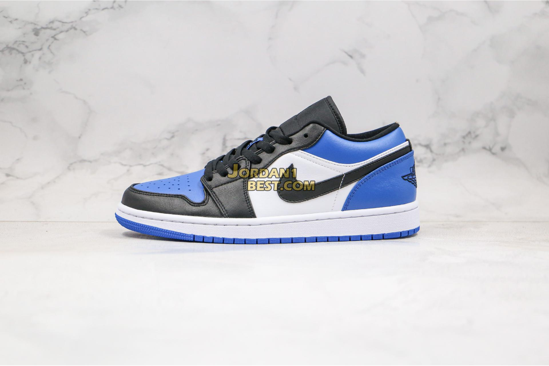 "Air Jordan 1 Low ""Royal Toe"" CQ9446-400 Mens Womens"