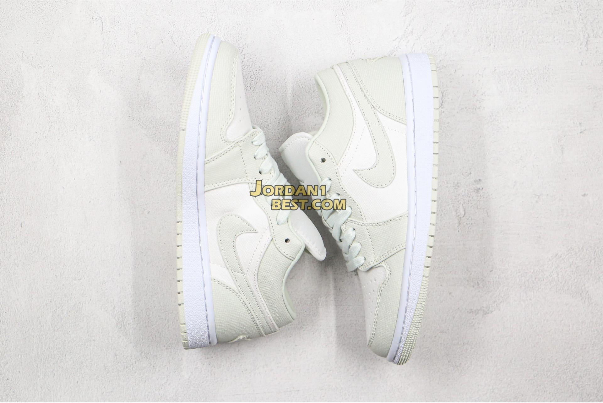 "Air Jordan 1 Low ""Spruce Aura"" CW1381-003 Mens Womens"