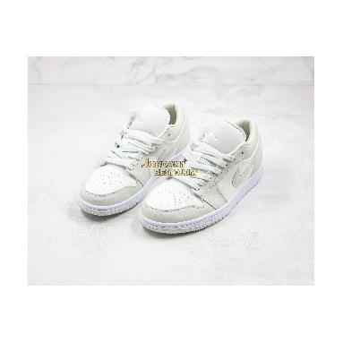 "AAA Quality Air Jordan 1 Low ""Spruce Aura"" CW1381-003 Mens Womens white/spruce aura-spruce aura Shoes replicas On Wholesale Sale Online"