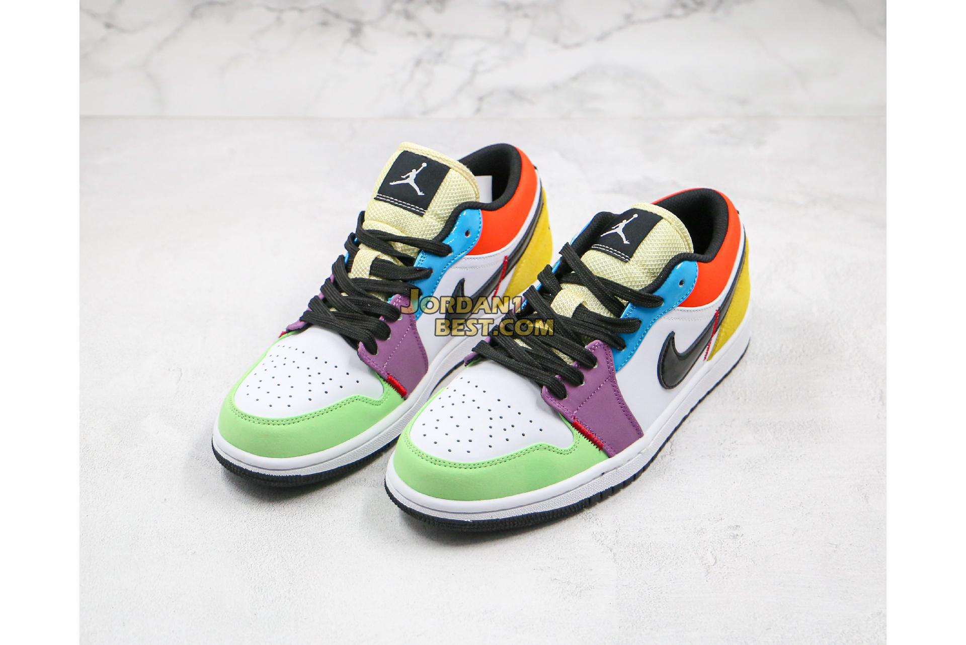 "Air Jordan 1 Low ""SE Multicolor"" CZ3572-104 Mens Womens"
