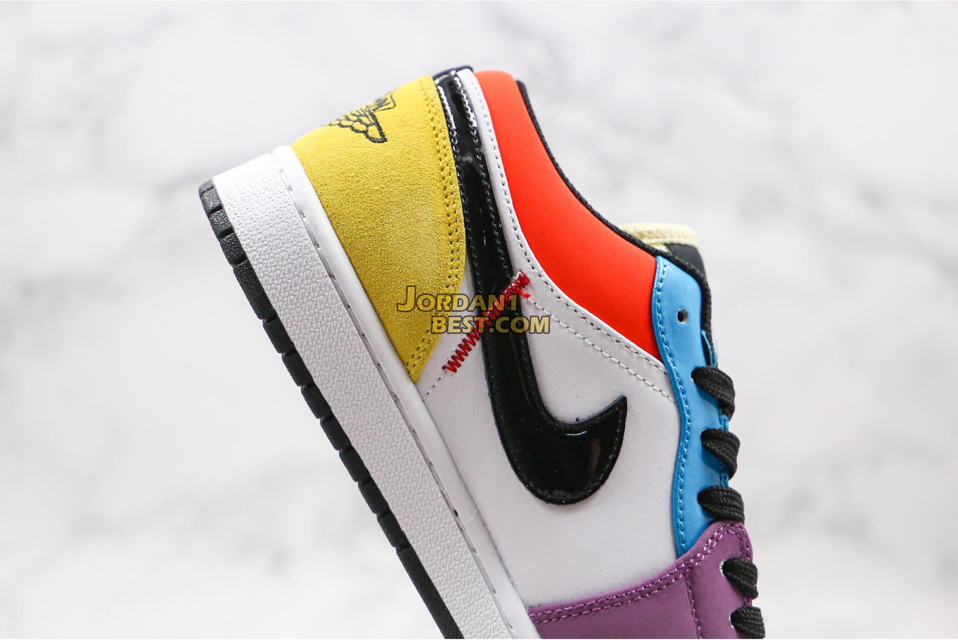 """Air Jordan 1 Low """"SE Multicolor"""" CZ3572-104 Mens Womens"""