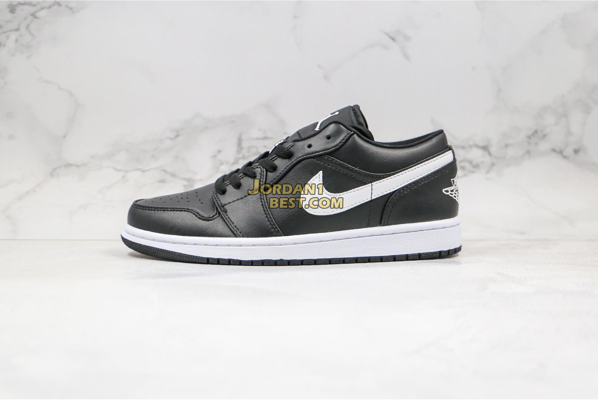 "Air Jordan 1 Low ""Black And White"" AO9944-001 Mens Womens"