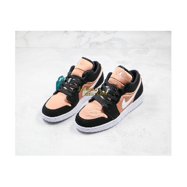 "fake Air Jordan 1 Low GS ""White Rose Gold"" 554723-090 Womens black/white-rose gold Shoes replicas On Wholesale Sale Online"