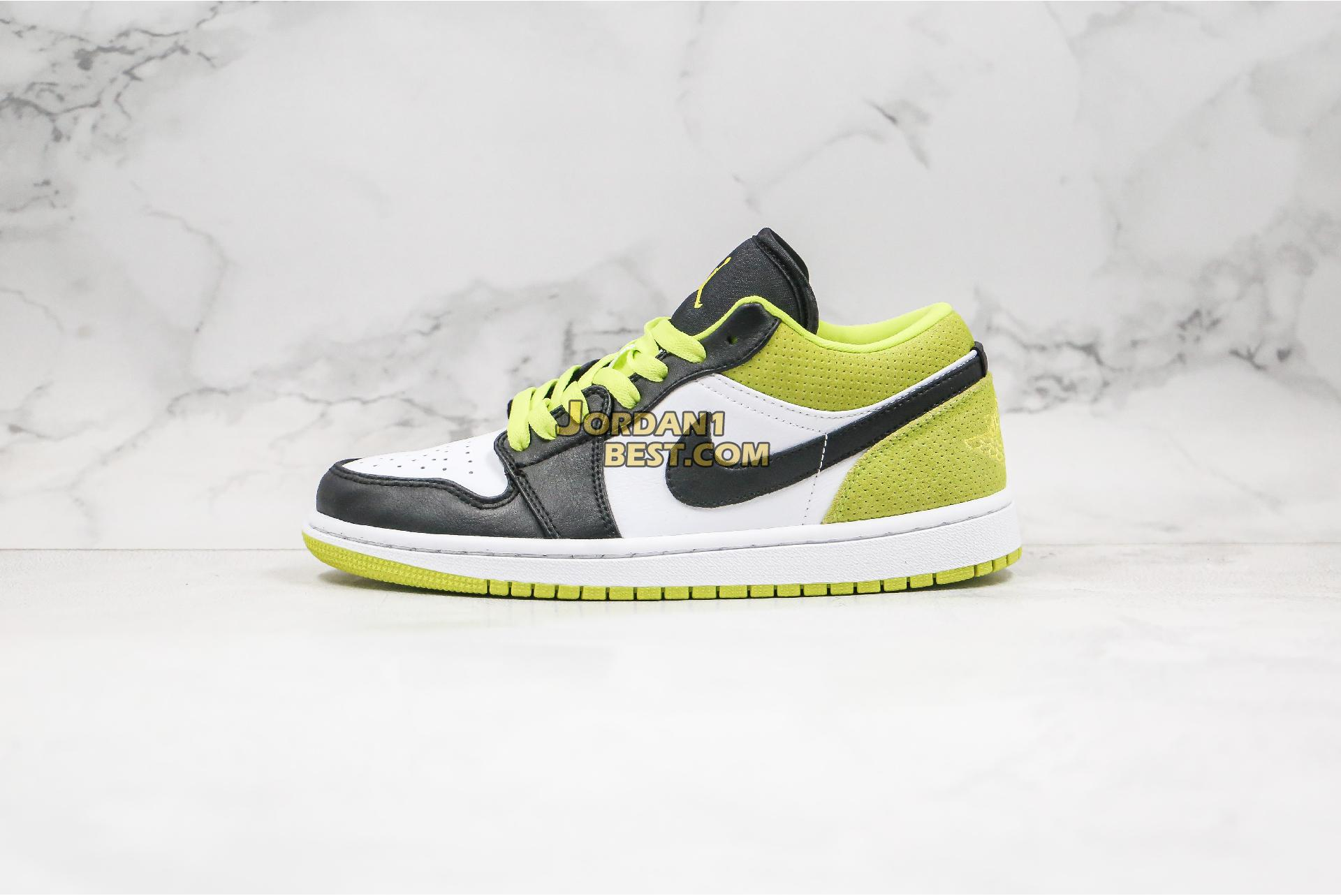 "Air Jordan 1 Low ""Black Cyber"" CK3022-003 Mens Womens"