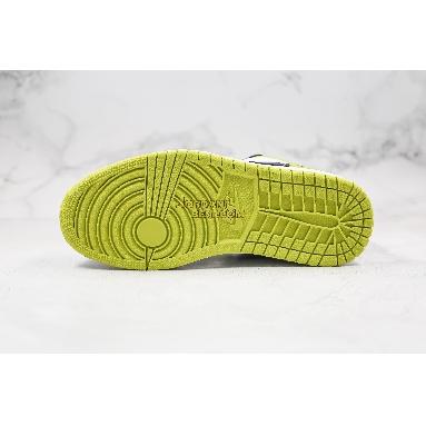"best replicas Air Jordan 1 Low ""Black Cyber"" CK3022-003 Mens Womens black/cyber-white/grass green Shoes replicas On Wholesale Sale Online"