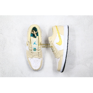 "best replicas 2020 Air Jordan 1 Low ""Palm Tree"" CK3022-107 Mens Womens light orewood brown/amarillo-white-laser blue Shoes replicas On Wholesale Sale Online"