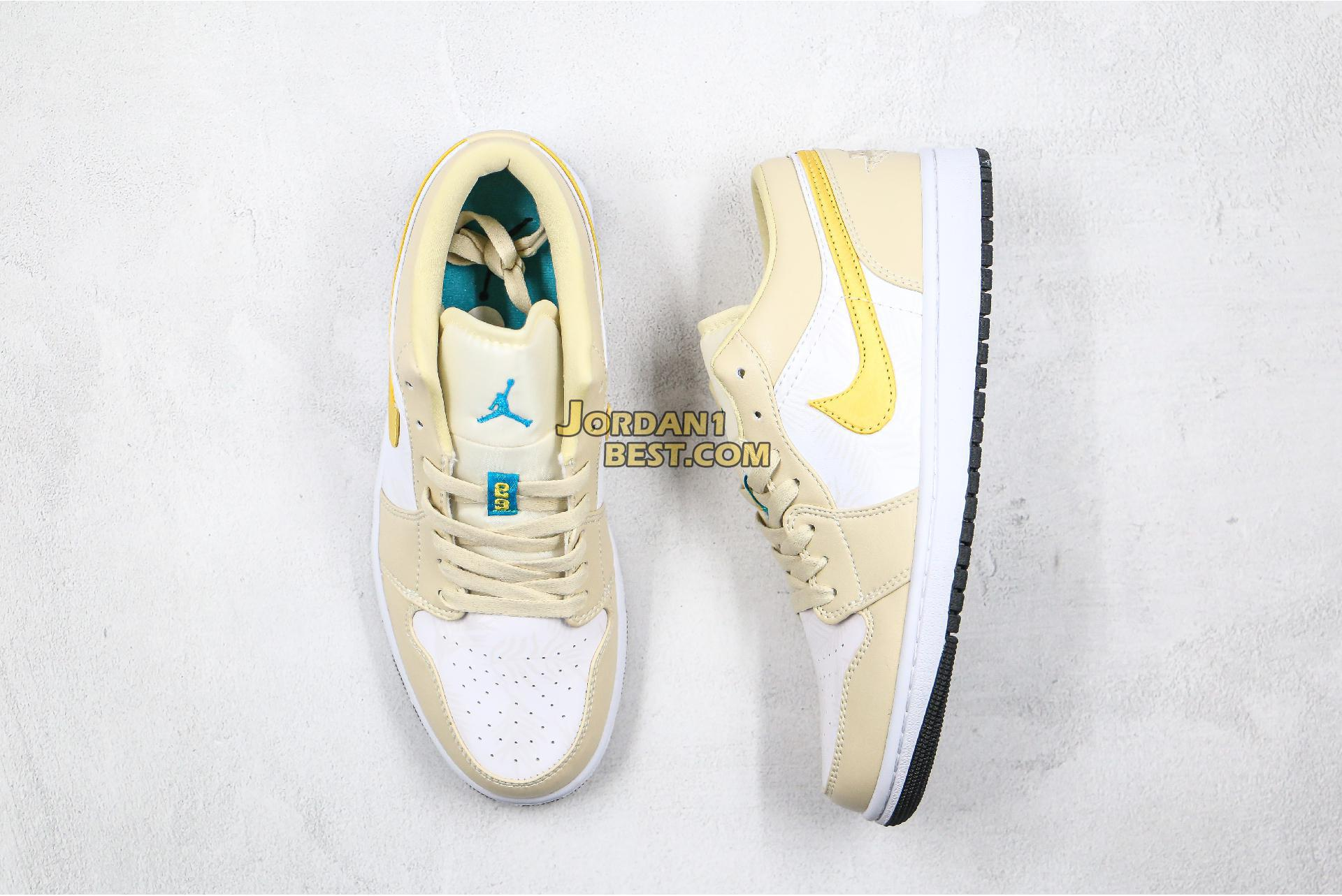 "2020 Air Jordan 1 Low ""Palm Tree"" CK3022-107 Mens Womens"