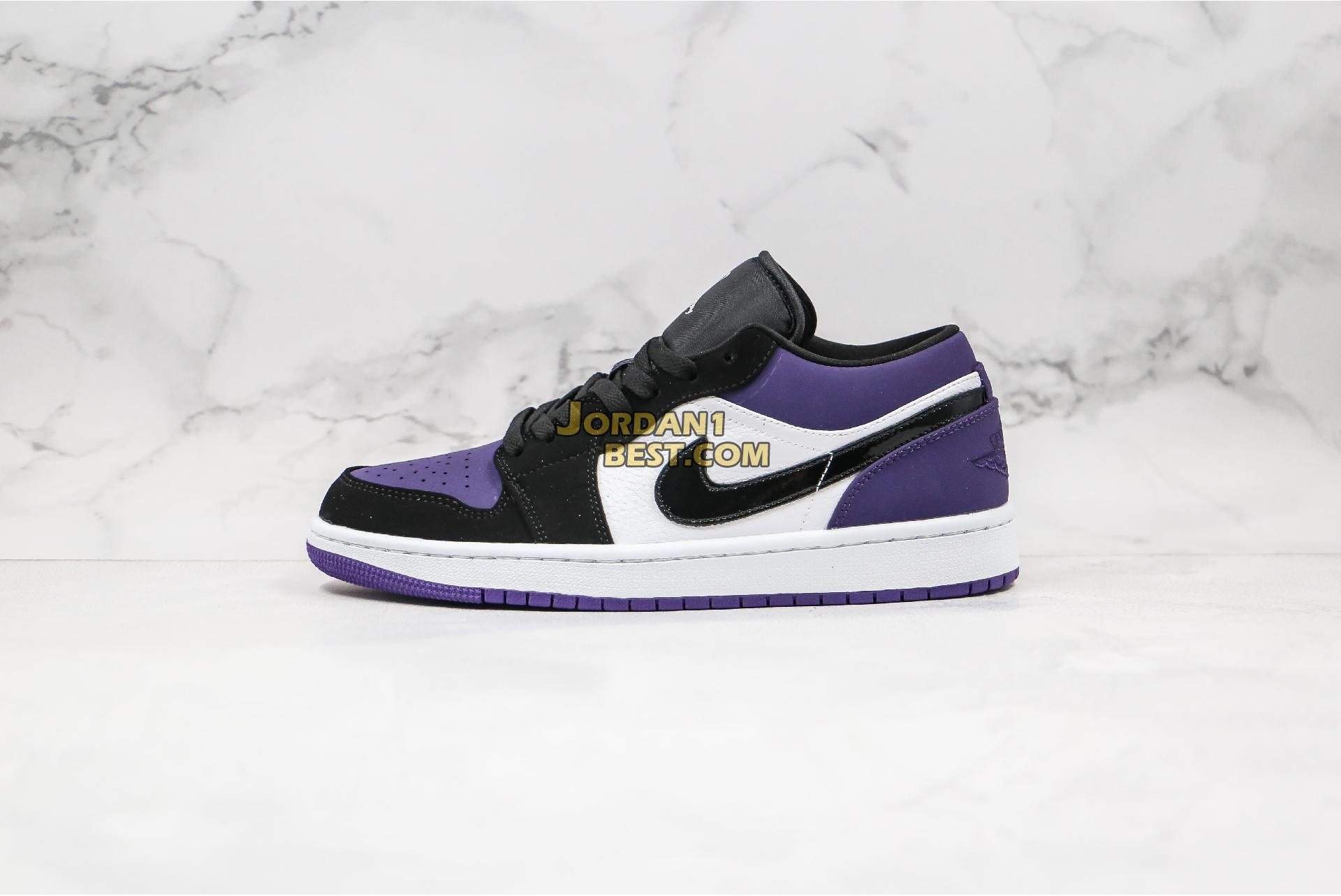 "2019 Air Jordan 1 Low ""Court Purple"" 553558-125 Mens Womens"