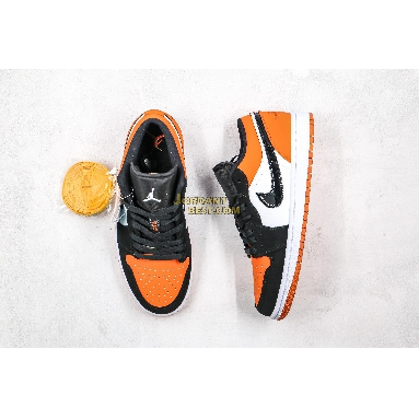 """AAA Quality 2019 Air Jordan 1 Low """"Shattered Backboard"""" 553558-128 Mens white/black-starfish Shoes replicas On Wholesale Sale Online"""