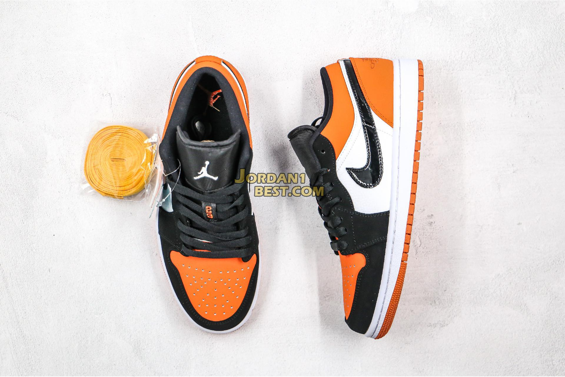 "2019 Air Jordan 1 Low ""Shattered Backboard"" 553558-128 Mens"
