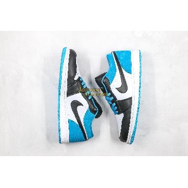 "top 3 fake 2020 Air Jordan 1 Low ""Laser Blue"" CK3022-004 Mens Womens black/black-laser blue-white Shoes replicas On Wholesale Sale Online"