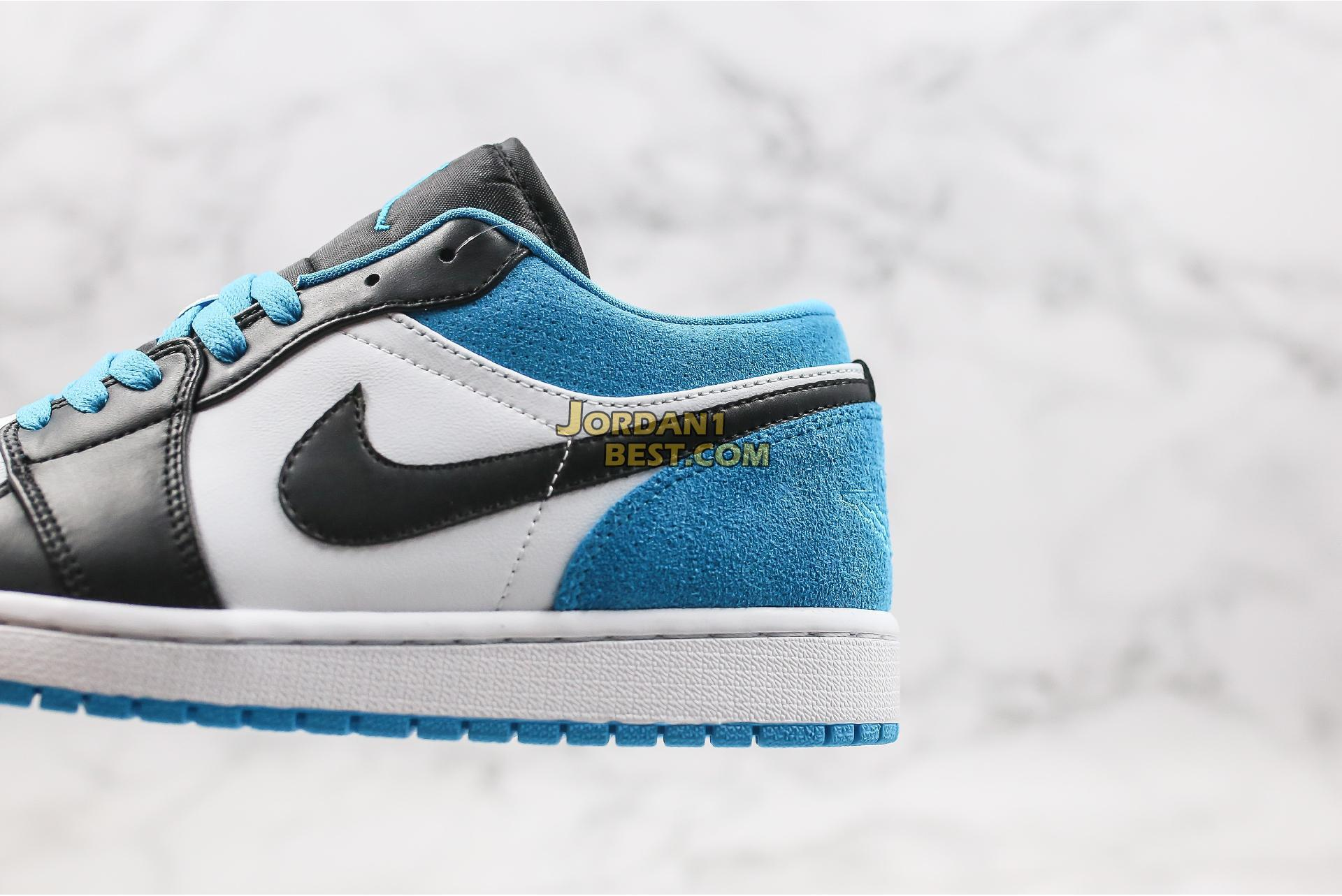 """2020 Air Jordan 1 Low """"Laser Blue"""" CK3022-004 Mens Womens"""