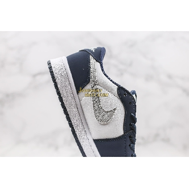 "AAA Quality 2019 Eric Koston x Air Jordan 1 Low SB ""Midnight Navy"" CJ7891-400 Mens Womens midnight navy/white-ember glow-metallic silver Shoes replicas On Wholesale Sale Online"
