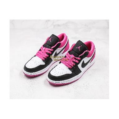 "fake 2020 Air Jordan 1 Low SE ""Fuchsia"" CK3022-005 Mens Womens black/white-magenta Shoes replicas On Wholesale Sale Online"
