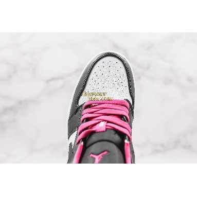 "fake 2020 Air Jordan 1 Low SE ""Fuchsia"" CK3022-005 Mens Womens black/white-magenta Shoes replicas On Wholesale Sale Online"