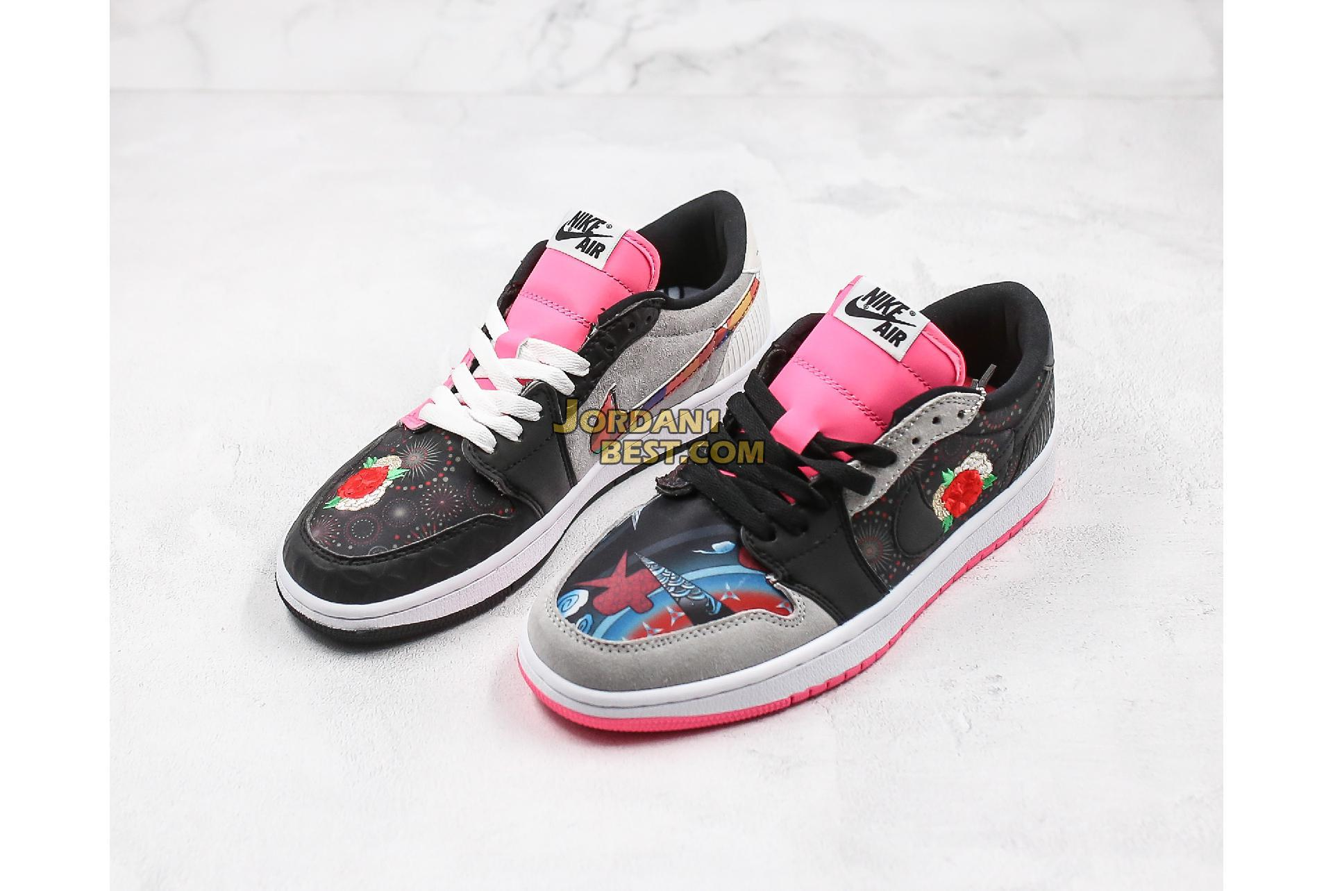 "2020 Air Jordan 1 Low OG ""Chinese New Year"" CW0418-006 Mens Womens"