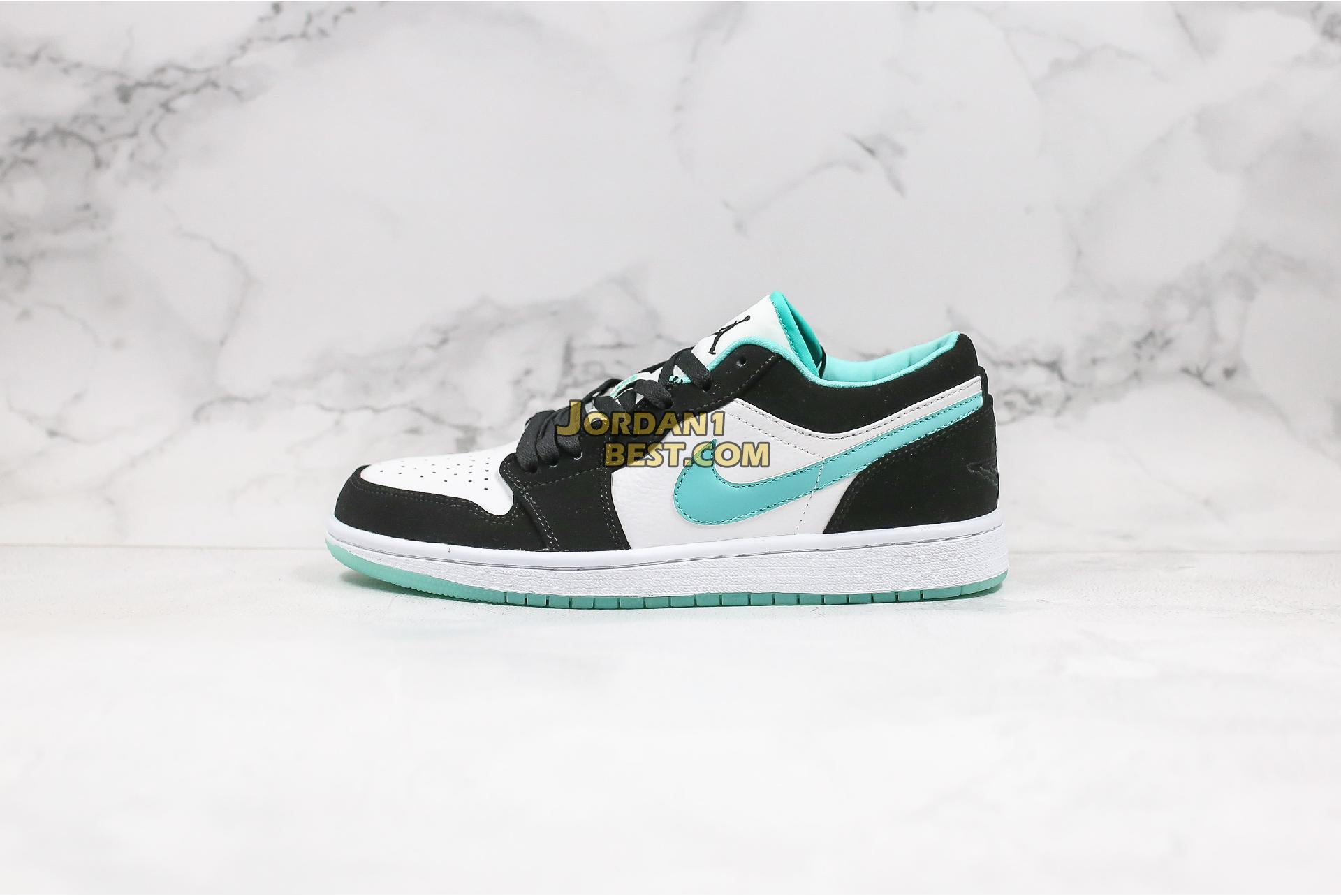 "2019 Air Jordan 1 Low ""Island Greenr"" CQ9828-131 Mens Womens"