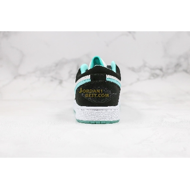 "AAA Quality 2019 Air Jordan 1 Low ""Island Greenr"" CQ9828-131 Mens Womens white/black-island green Shoes replicas On Wholesale Sale Online"
