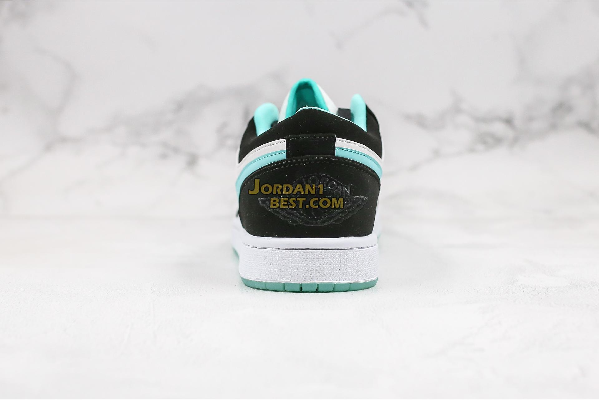 "2019 Air Jordan 1 Low ""Island Greenr"" CQ9828-131 Mens Womens"