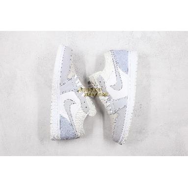 "AAA Quality 2019 Air Jordan 1 Low ""Paris"" CV3043-100 Mens Womens white/sky grey-football grey Shoes replicas On Wholesale Sale Online"