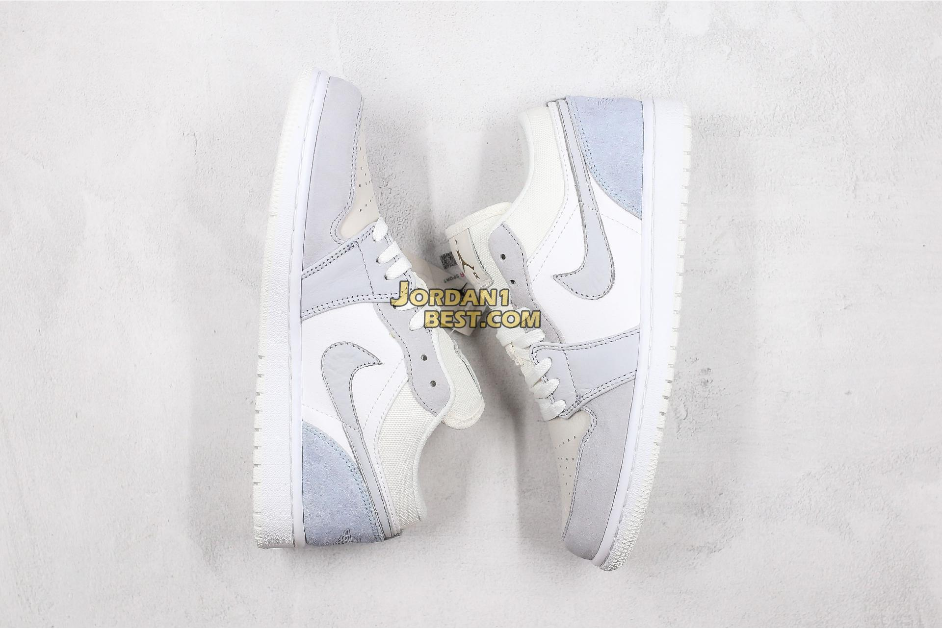 "2019 Air Jordan 1 Low ""Paris"" CV3043-100 Mens Womens"