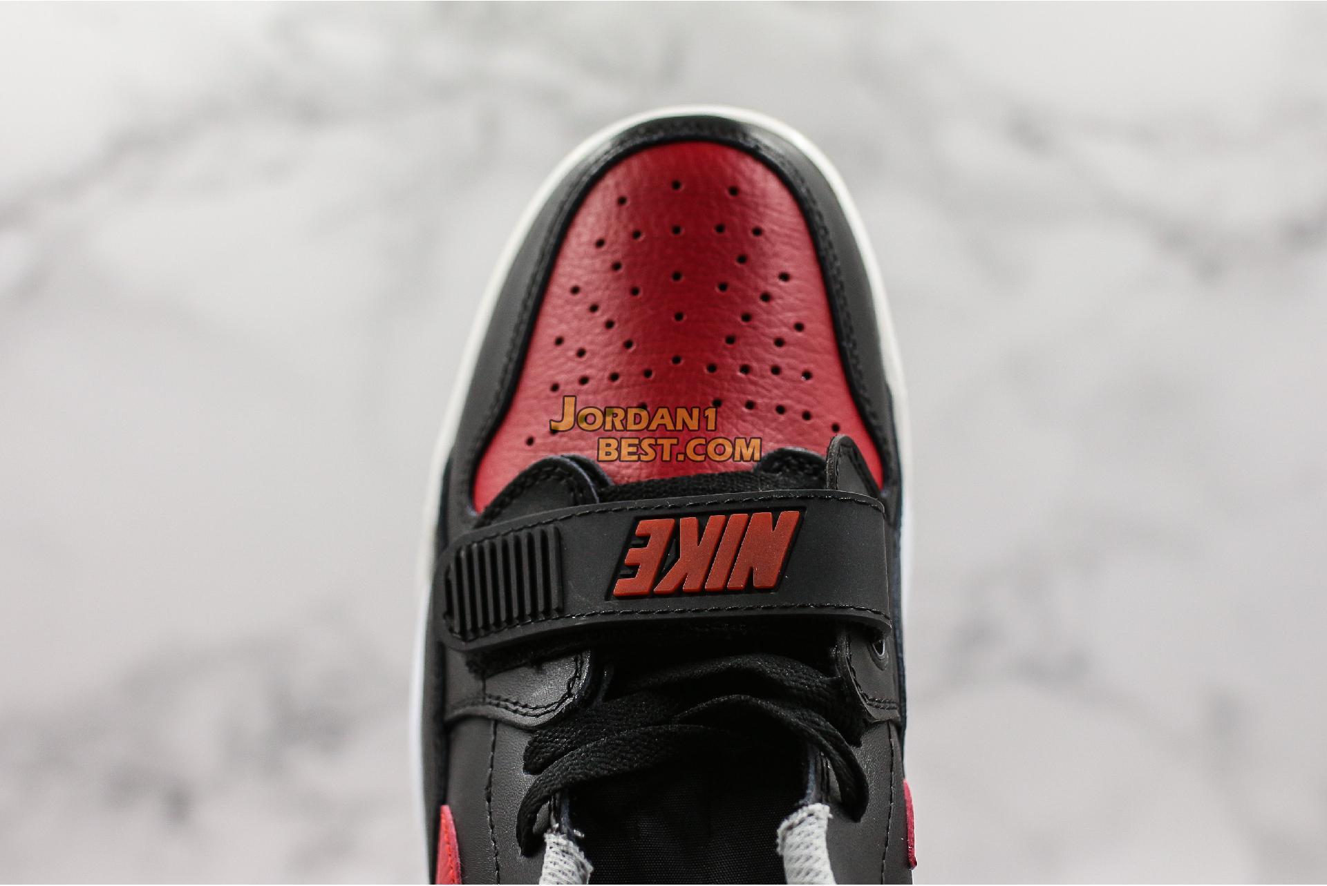 """Air Jordan Legacy 312 Low """"Bred Cement"""" CD7069-006 Mens"""