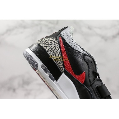 """AAA Quality Air Jordan Legacy 312 Low """"Bred Cement"""" CD7069-006 Mens black/university red Shoes replicas On Wholesale Sale Online"""