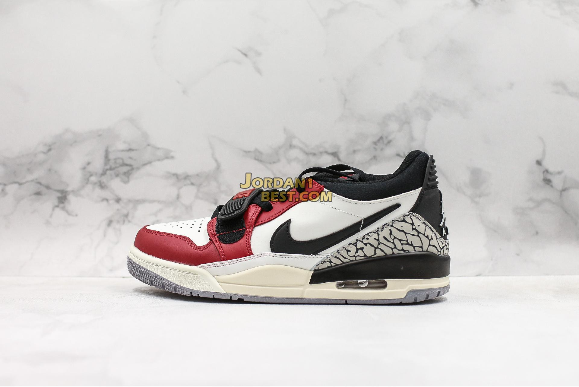 "Air Jordan Legacy 312 Low ""Chicago"" CD7069-106 Mens Womens"