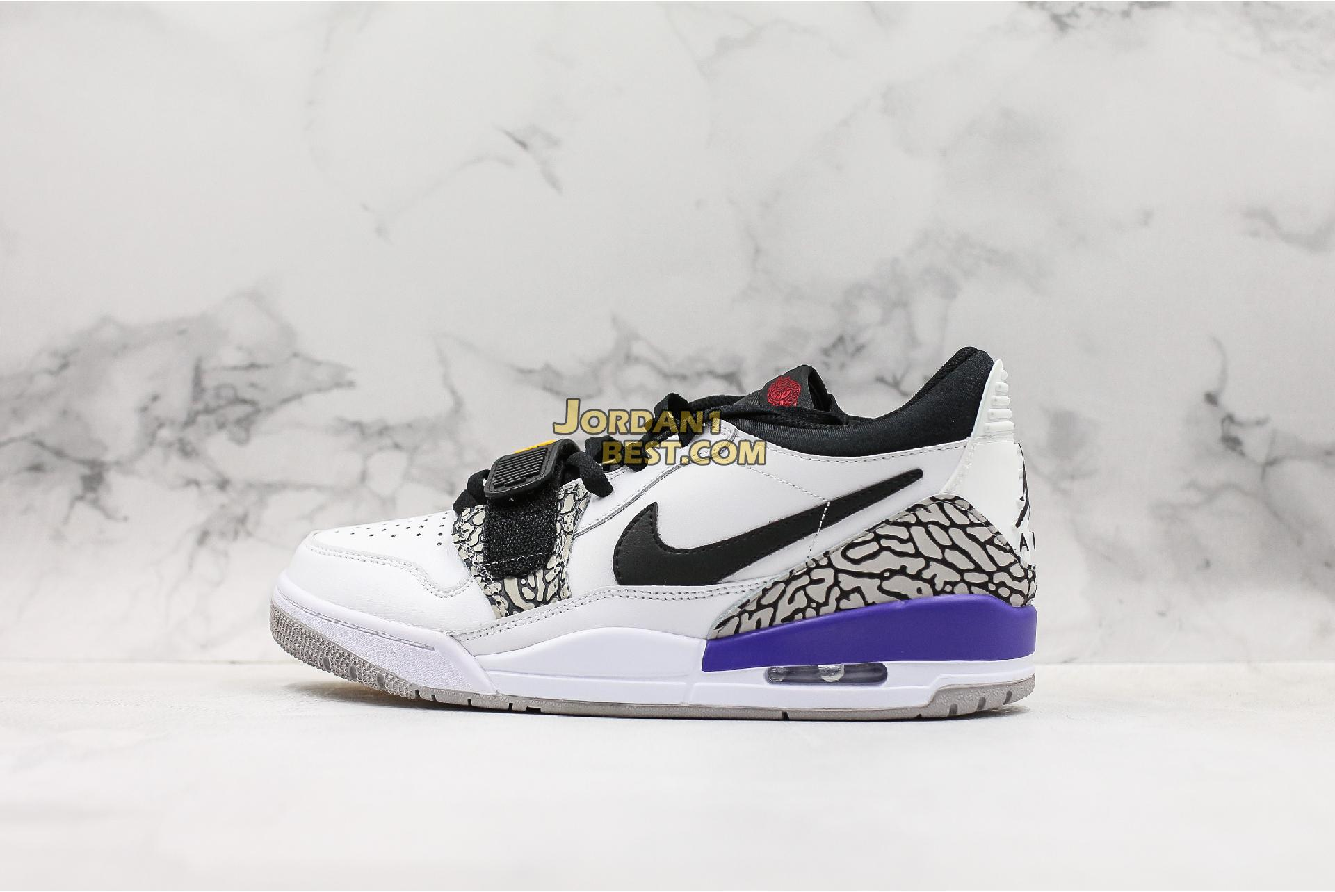 "Air Jordan Legacy 312 Low ""Lakers"" CD7069-102 Mens Womens"