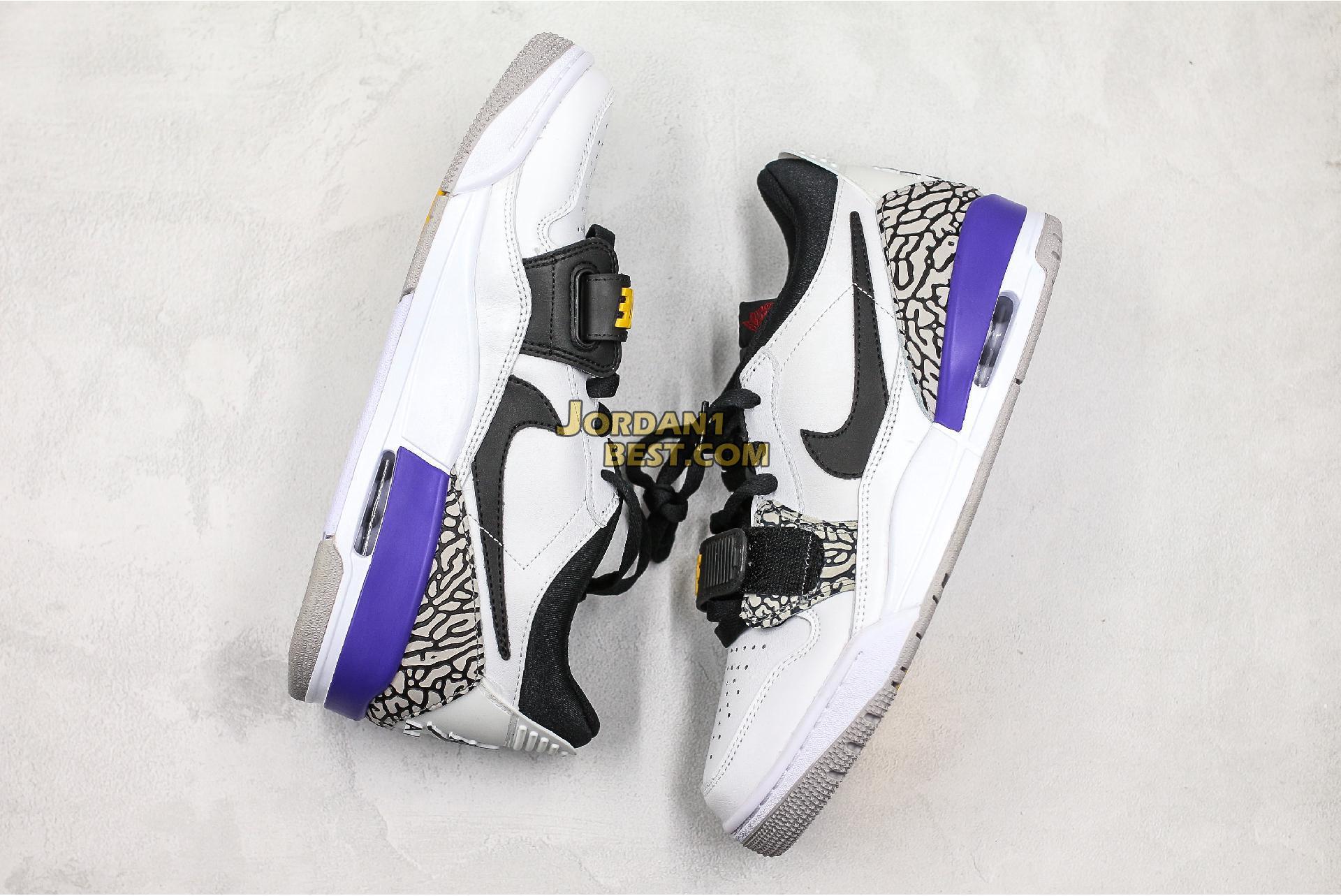 """Air Jordan Legacy 312 Low """"Lakers"""" CD7069-102 Mens Womens"""