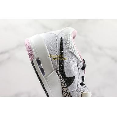 "AAA Quality Air Jordan Legacy 312 Low ""White Black Pink Foam"" AT4047-106 Womens white/black-pink foam Shoes replicas On Wholesale Sale Online"