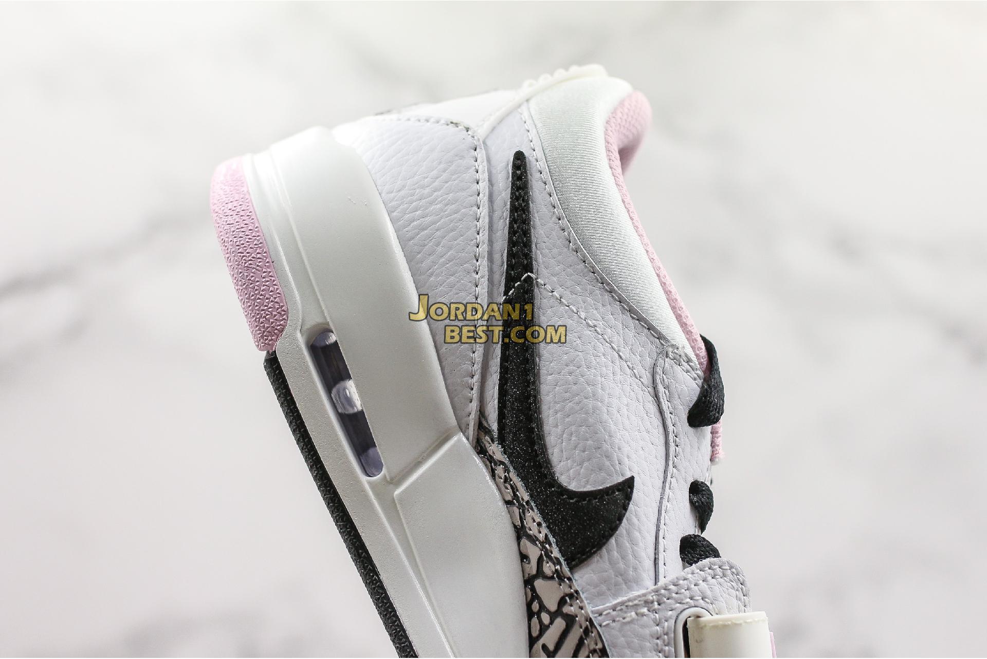"""Air Jordan Legacy 312 Low """"White Black Pink Foam"""" AT4047-106 Womens"""