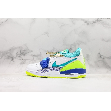 "new replicas Air Just Don x Jordan Legacy 312 Low ""Neon Aquamarine"" CD7069-103 Mens white/ultramarine-neon yellow-aquamarine Shoes replicas On Wholesale Sale Online"