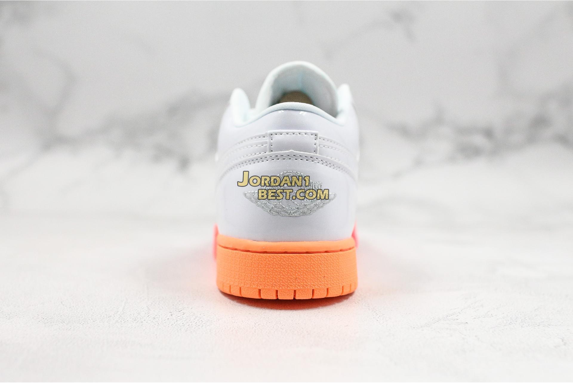 "Air Jordan 1 Low GS ""Sunset Sole"" 554723-100 Womens"
