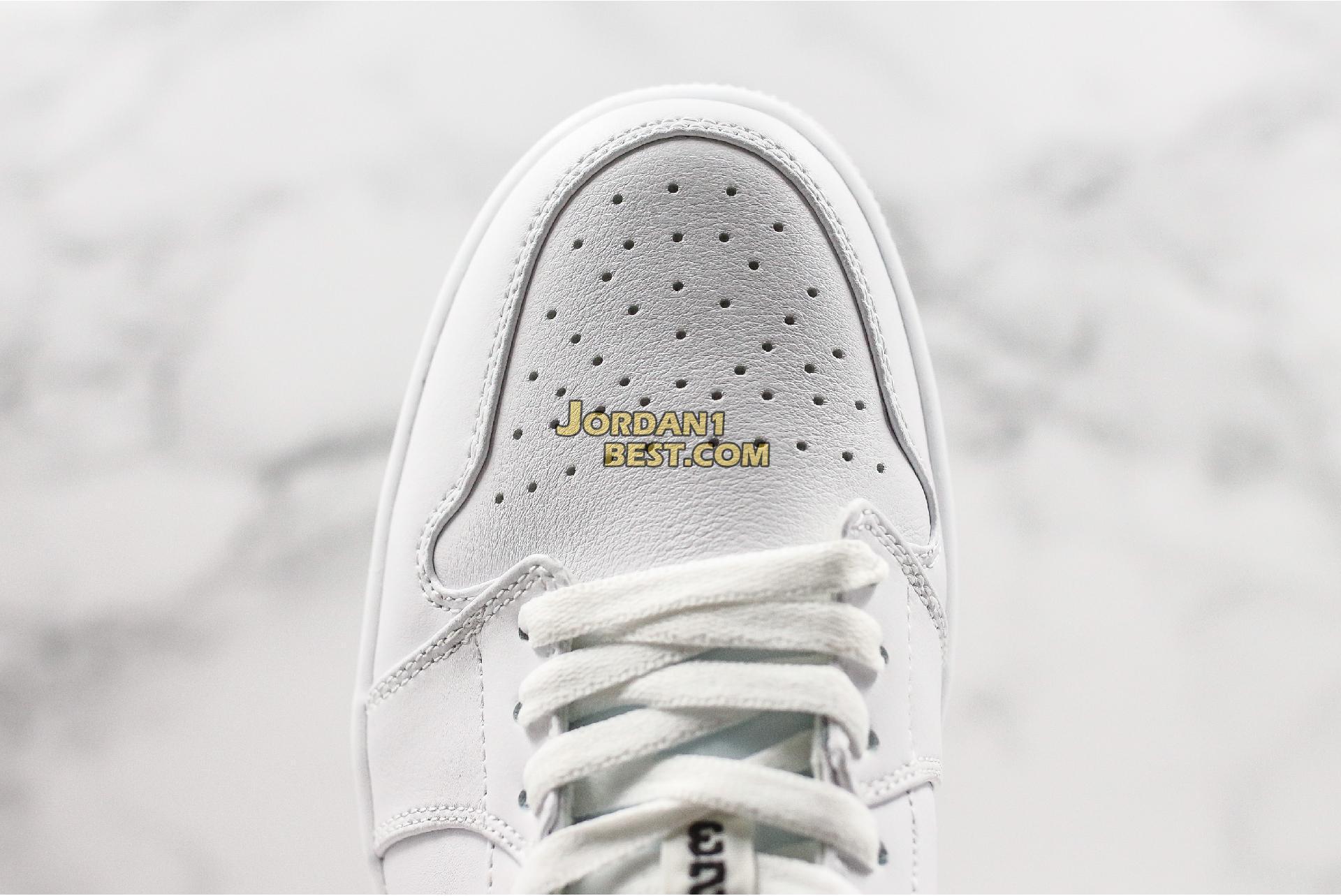 """Air Jordan 1 Low GS """"White Black"""" 553560-101 Mens Womens"""