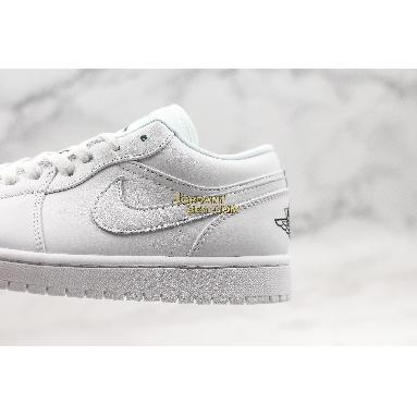 "top 3 fake Air Jordan 1 Low GS ""White Black"" 553560-101 Mens Womens white/black Shoes replicas On Wholesale Sale Online"